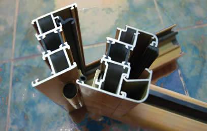 Serramenti in pvc, alluminio, legno alluminio